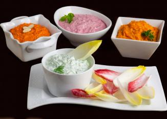 4 Dips with Endive