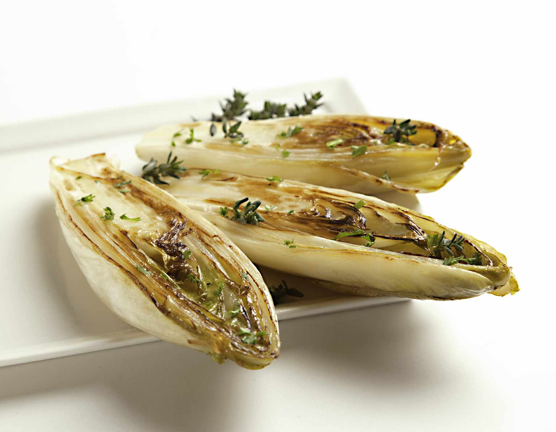 Grilled Endive with Balsamic Rosemary Marinade