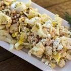 Cauliflower, White Bean, Endive & Feta Salad