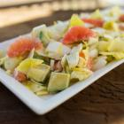 Endive, Avocado and Grapefruit Salad
