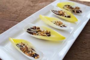 Endive with Beets, Parmesan & Walnuts
