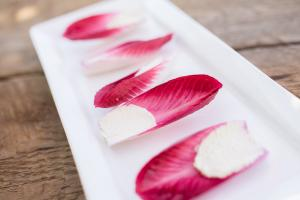 Honey Goat Cheese in Endive