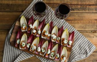 Sweet Potato and Bacon in Endive